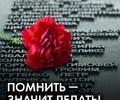 Красная гвоздика как символ памяти и благодарности
