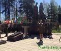 В Парке Победы г. Кувшинова проходит торжественный митинг
