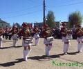 Парад барабанщиц открыл День Победы в Кувшинове