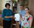 Супруги Рожковы получили заветный сертификат!
