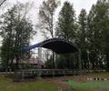 Новая сцена в парке Победы, культуры и отдыха