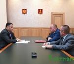 Игорь Руденя обсудил с руководством Кувшиновского района инвестиционную активность муниципалитета