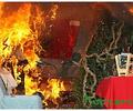 В преддверии Нового года МЧС напоминает о необходимости соблюдать правила пожарной безопасности