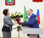 Избранный глава района вступил в должность