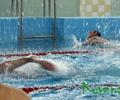 На соревнованиях по плаванию в фабричном бассейне: закипала вода, гудели трибуны…