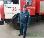 25 лет безупречной службы  в пожарной охране