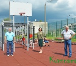 Ориентир на ЗОЖ: в Кувшинове торжественно открыта площадка для сдачи норм ГТО