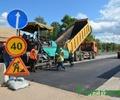 В городе идут работы по ремонту дорог
