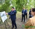 Игорь Руденя осмотрел место строительства в Бежецке первого в Тверской области дома-интерната нового типа для пожилых людей