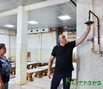Новые потолки в городской бане