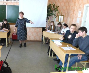 4 марта в школе №1 для старшеклассников прошла деловая  игра-семинар на тему «Избирательные системы»
