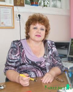 Заведующая детским садом №1 Любовь Михайловна Сагель