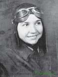Летчица 65-го гвардейского истребительного авиационного полка младший лейтенант Антонина Васильевна Лебедева