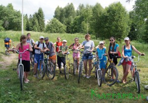 Велопоходы к нашим святым источникам в Облово и деревню Ново