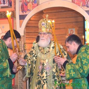 23 октября в нашем городе состоялось знаковое событие – освящение храма преподобного Амвросия Оптинского