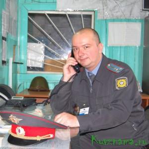 Капитан полиции Евгений Николаевич Мистров