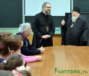 13 декабря Кувшиново посетил протоиерей Русской православной церкви за границей