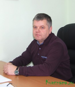 Исполнительный директор Кувшиновского отделения ООО «Тверьоблэлектро» Сергей Зеленский