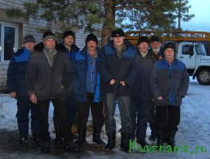 С. М. Рак, Э. В. Сабуров, А. Я. Рузыев, С. М. Артозеев, Д. Ю. Смирнов,  С. В. Елисеев, О. В. Морозов, А. Н. Дуев (слева направо).