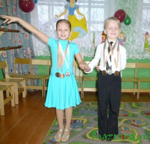 Алина Бредова и Александр Воронкин увлекаются танцами с раннего детства