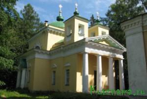 Никольская церковь на погосте Чурилово