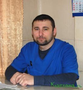 Врач-реаниматолог Кувшиновской ЦРБ Валерий Константинович Соколов