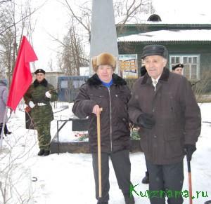 21 февраля в нашем городе у обелиска воинам-землякам состоялся торжественный митинг, посвященный Дню защитника Отечества