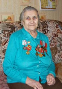 Мария Егоровна Ежова, участница Великой Отечественной войны