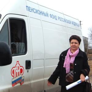 16 апреля в Кувшиновском районе проводился прием граждан по пенсионным вопросам  с использованием мобильной клиентской службы (МКС)