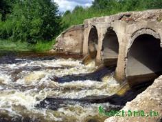 Мост через Таложенку.