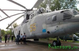 24 июля была организована и проведена экскурсия в музей вертолетов города Торжка