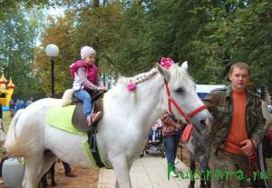 В праздник города была и организация развлекательных мероприятий для маленьких кувшиновцев