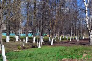 Жителями города убраны и очищены парк Победы и  парк на улице Карла Маркса, аллея у железнодорожного вокзала