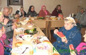 День пожилых людей в доме-интернате в селе Прямухино