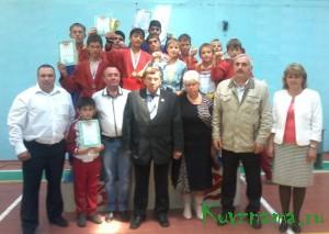 21 сентября уже Кувшиново встречало борцов на открытом первенстве города по борьбе самбо среди юношей