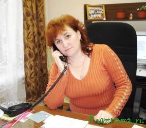 Директор Прямухинской школы С.Н. Рудевич