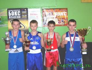 Кувшиновские боксеры на турнире по боксу в Конакове