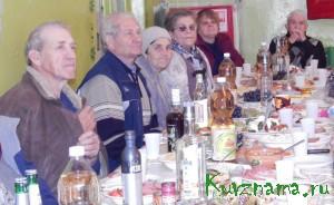 День пожилых людей в Заовражье