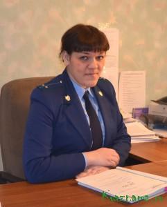 Помощник прокурора Кувшиновского района Елена Вячеславовна Гуданов