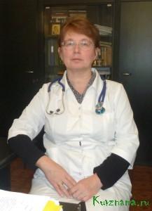 Заместитель главного врача Кувшиновской центральной районной больницы С.Н. КАРПОВА