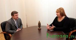 Рабочая встреча Губернатора с депутатом Государственной Думы Светланой Максимовой