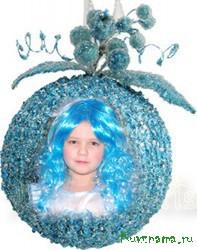 Оля:  - Я очень-очень жду от Деда Мороза в подарок волшебный замок, в котором живет фея!