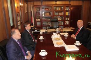 Губернатор Андрей Шевелёв находится с рабочим визитом  в Республике Корея