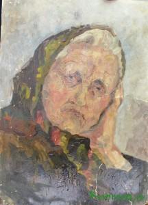 Портрет бабушки В. Макарова.