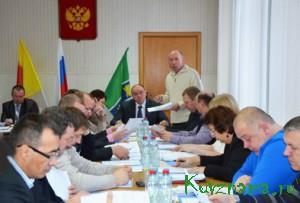 25 декабря состоялась очередная сессия Собрания депутатов Кувшиновского района