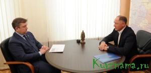 26 января, состоялась встреча Губернатора Андрея Шевелёва с сенатором Виктором Абрамовым