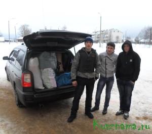 Социальные акции в поддержку жителей Донбасса