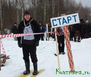 Охотничий биатлон 2014. Игорь Ершов на старте!