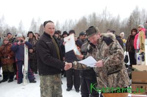 Охотничий биатлон 2014. Николай Агальцов - самый меткий стрелок.