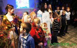 «Пробудись, душа» - так назывался спектакль, который показали ученики Воскресной школы 7,8 января